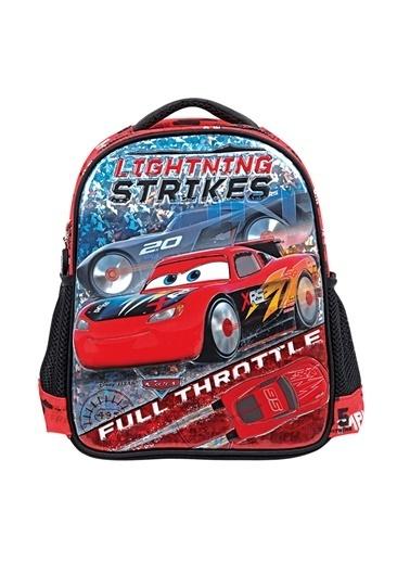 Cars Rocket Racing Anaokulu Çantası 5083 Renkli